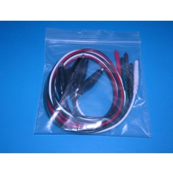 New 5 Lead EKG Wires with Alligator Ends