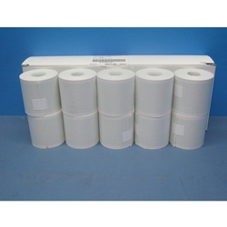 "10x Rolls of Patient Monitor Recorder / Thermal Printer Paper With Green Chart - 1.968"" x 89'"