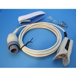 New Reusable Adult / Juvenile SpO2 Finger Sensor for Philips / Hewlett Packard / Agilent Patient Monitors & Pulse Oximeters