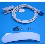 New Reusable Adult SpO2 Finger Sensor for Spacelabs Ultraview Patient Monitors & Pulse Oximeters