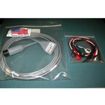 New 5 Lead, 6-Pin EKG / ECG Cable for Invivo, Spacelabs, Datascope & Others with Snap Leads