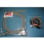 New 5 Lead, 12-Pin EKG / ECG Cable for Hewlett Packard / Agilent / Philips with Alligator Leads