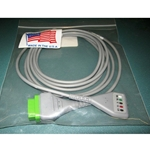 New 5 Lead GE / Marquette EKG / ECG Cable