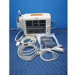 Philips SureSigns VS3 Vital Signs Monitor with SpO2, Temp, BP & Recorder