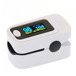 Finger Tip Pulse Oximeter SpO2 PR PI RR Heart Rate Monitor Saturation