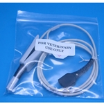 Large Nellcor Veterinary Pulse Oximeter SpO2 Lingual Sensor