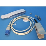 New Reusable Adult / Juvenile SpO2 Finger Sensor for Philips  Patient Monitors & Pulse Oximeters