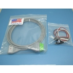 New 3 Lead GE / Marquette EKG / ECG Cable with Alligator Leads