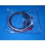 New 5 Lead EKG Wires with Snap Ends for Hewlett Packard / Agilent / Philips Patient Monitors