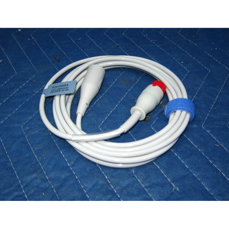 Invasive Blood Pressure (IBP) Cable for Philips Patient Monitors - For Abbott Transducers