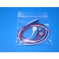 New 3 Lead EKG Wires with Snap Ends
